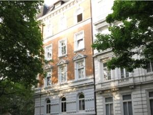 Gründerzeitfassade in der Bornstraße