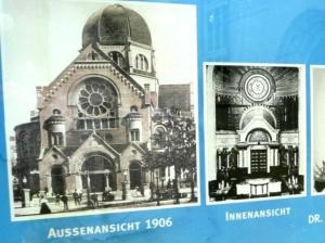 Bilder der ehemaligen Bornplatzsynagoge
