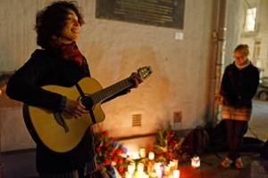 Anna Vishnevska singt, Grindel leuchtet, Joseph-Carlebach-Platz