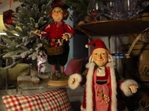 Weihnachtsdekoration bei Gerhard und Susanne Lange im Grindelviertel / Rotherbaum