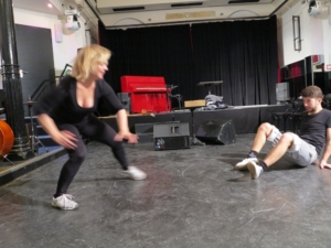 Cornelia Schirmer und Delio Malär | Probe Kammerspiele Hamburg