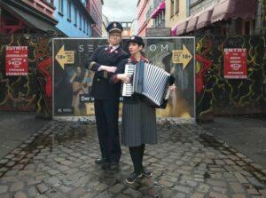Hamburger Kreativ Gesellschaft und Kulturbehörde ermöglichen Kleinkunst in der Grindelallee