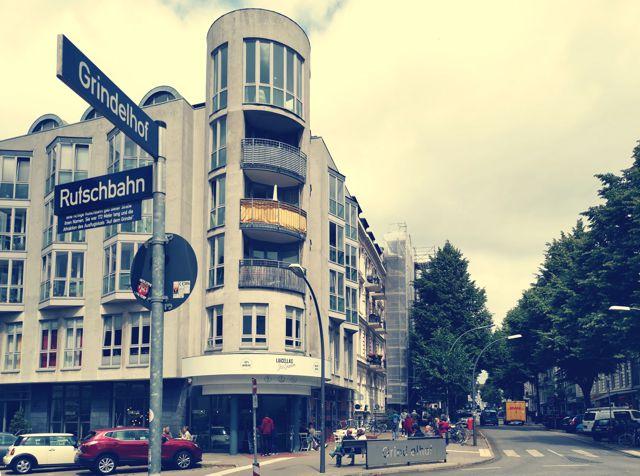 Kreisverkehr am Grindelhof wird zu Arie-Goral-Platz