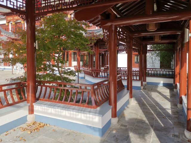 Chinesischer Garten Yu Garden beim MARKK