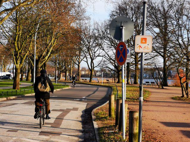 Auf dem Fahrrad durch Rotherbaum