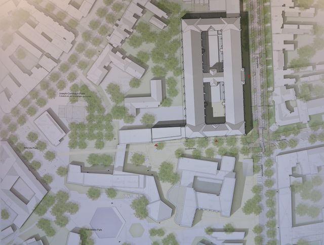 Zentrum für Geistes- und Sozialwissenschaften im ehemaligen Fernmeldeamt in Rohterbaum