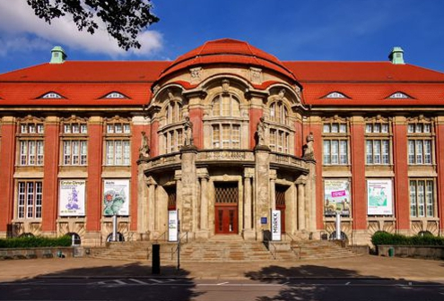 Das MARKK, ehemaliges Völkerkundemuseum in Hamburg Rotherbaum