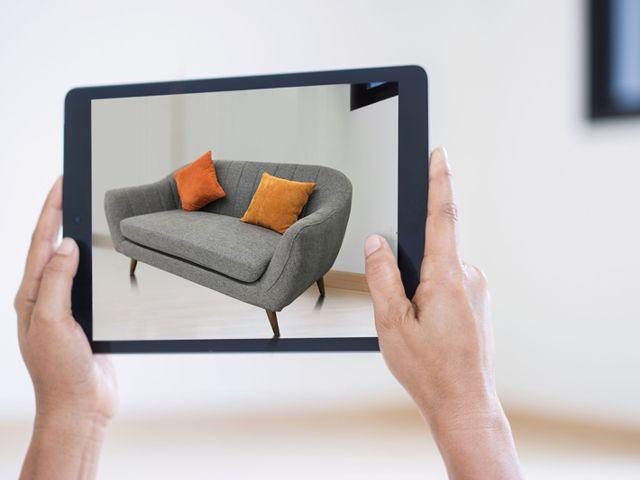 Virtuelle Unterstützung bei der Immobilienausstattung